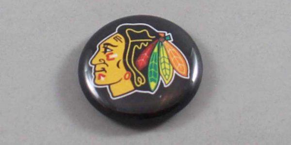 NHL Chicago Blackhawks Button 05