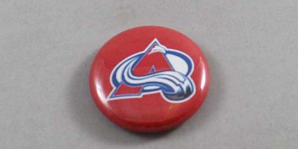 NHL Colorado Avalanche Button 01