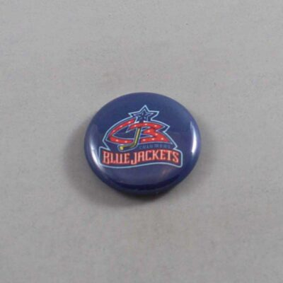 NHL Columbus Blue Jacketss Button 01