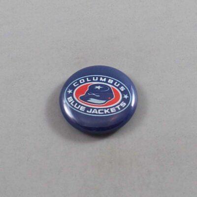 NHL Columbus Blue Jacketss Button 04