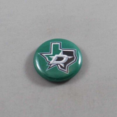 NHL Dallas Stars Button 01