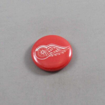 NHL Detroit Red Wings Button 01