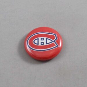 NHL Montreal Canadiens Button 01