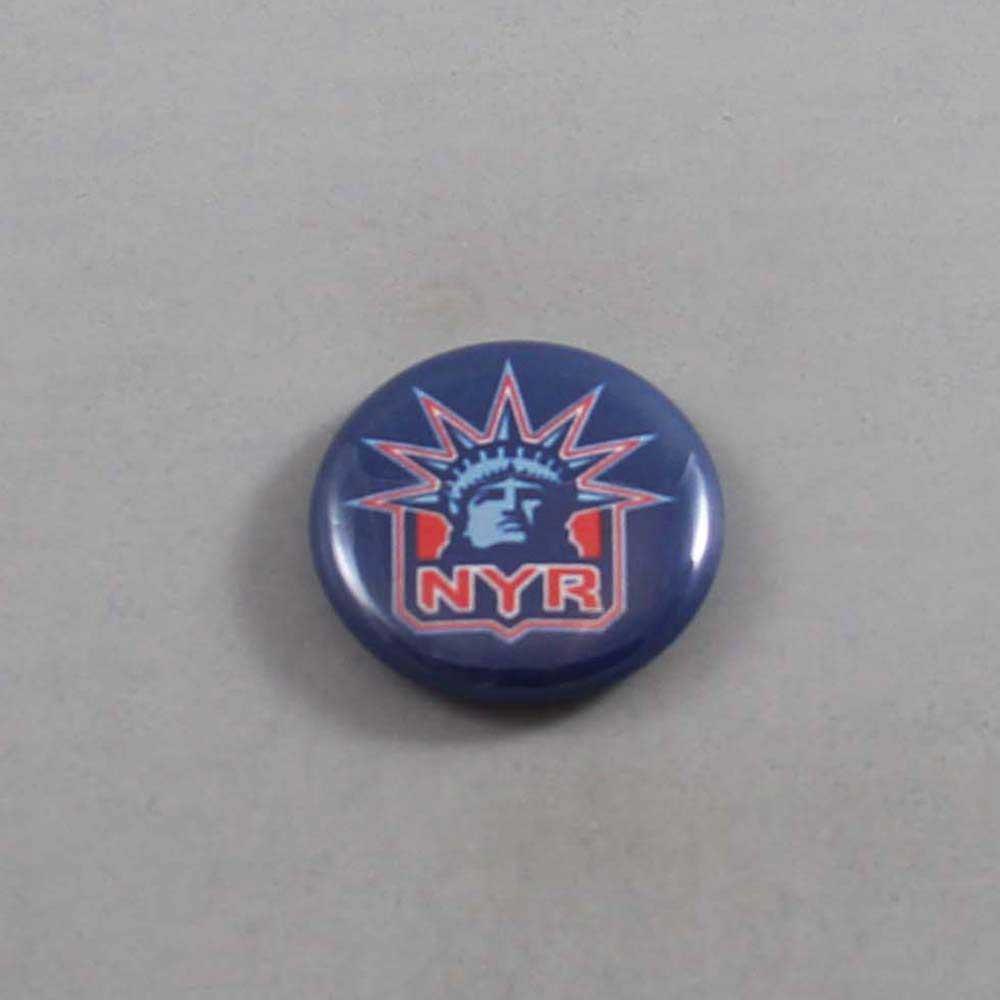 NHL New York Rangers Button 02