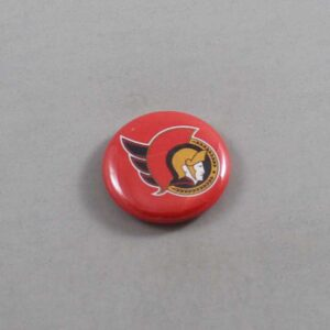 NHL Ottawa Senators Button 01