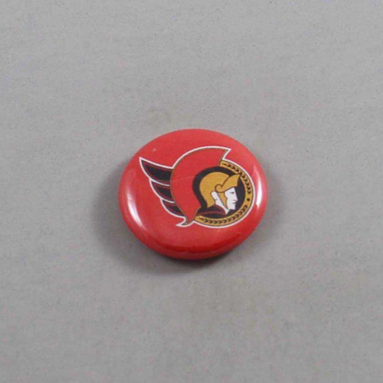 NHL Ottawa Senators Button 01