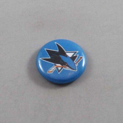 NHL San Jose Sharks Button 01