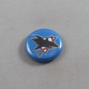 NHL San Jose Sharks Button 02