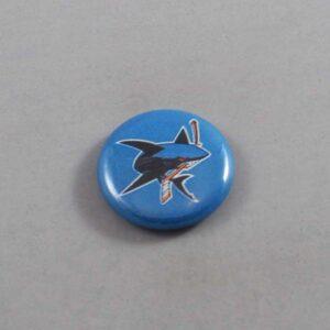 NHL San Jose Sharks Button 03