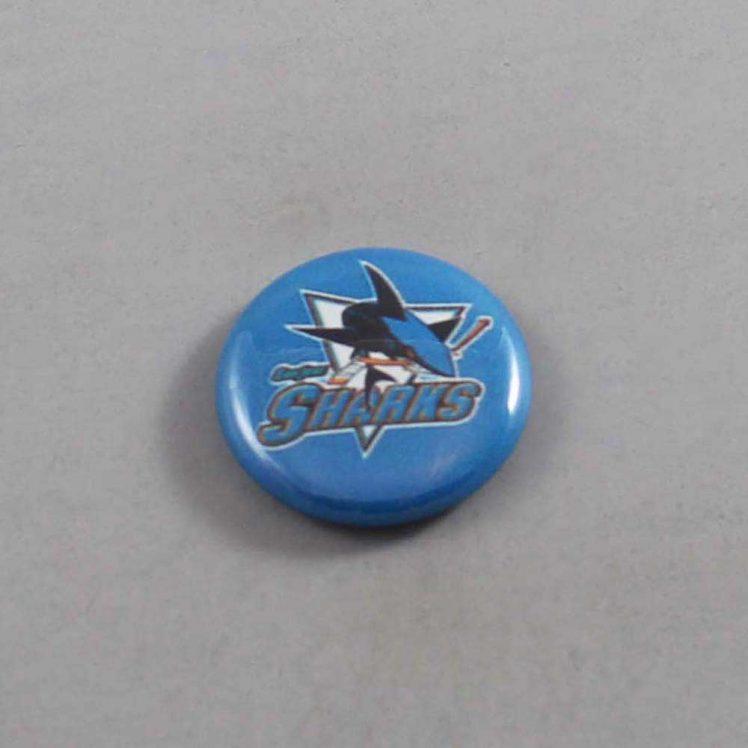 NHL San Jose Sharks Button 04