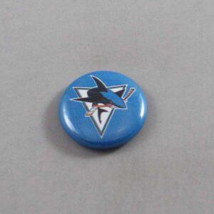 NHL San Jose Sharks Button 05