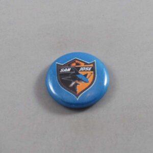 NHL San Jose Sharks Button 06
