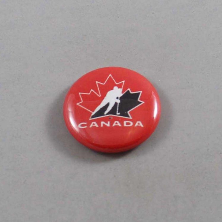 NHL Team Canada Hockey Button 01
