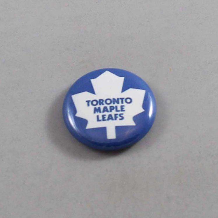 NHL Toronto Maple Leafs Button 02