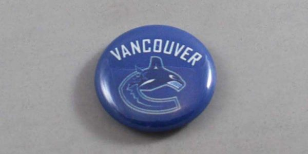NHL Vancouver Canucks Button 03