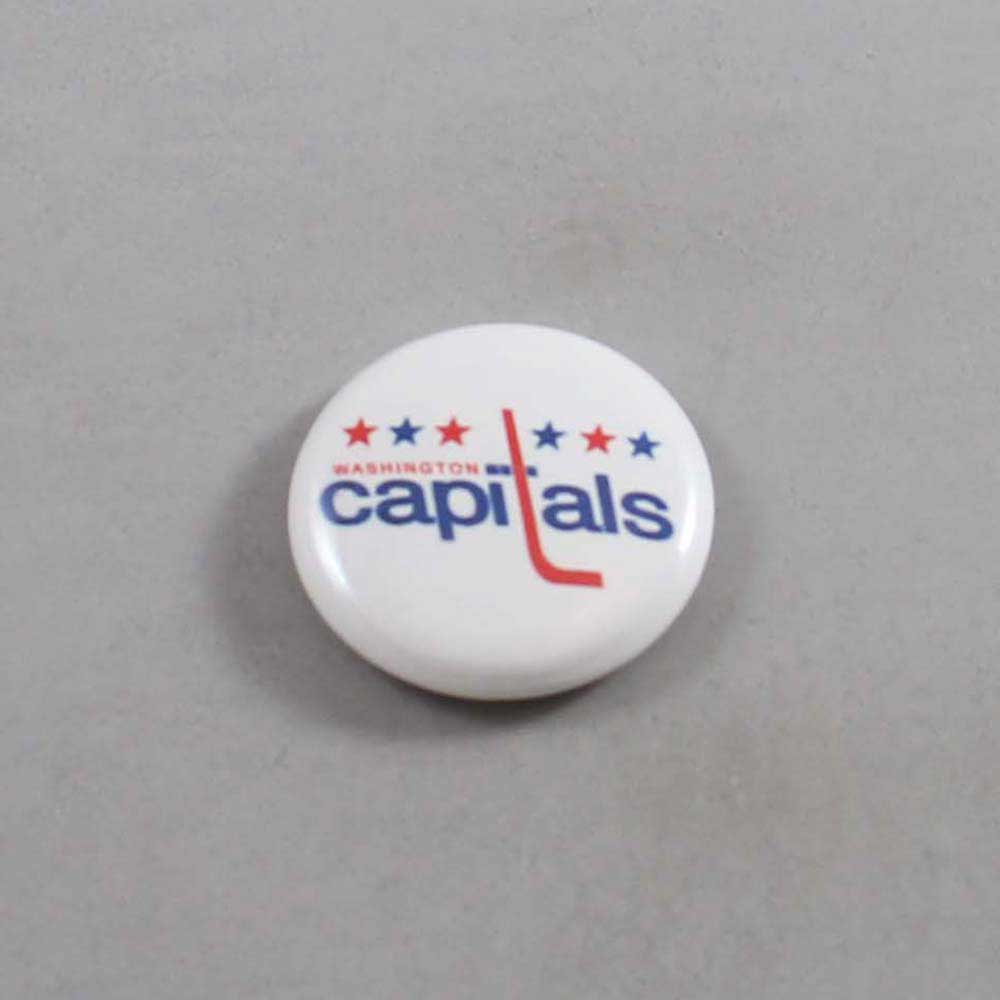 NHL Washington Capitals Button 01
