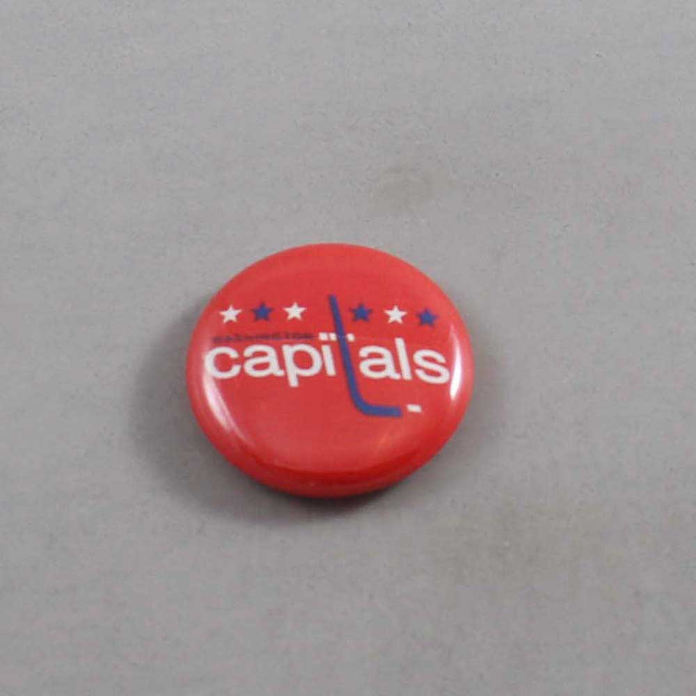 NHL Washington Capitals Button 02