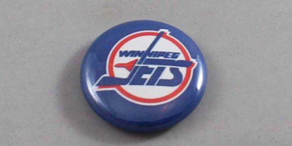 NHL Winnipeg Jets Button 02