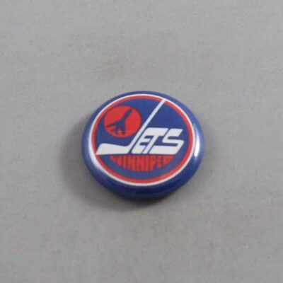 NHL Winnipeg Jets Button 04