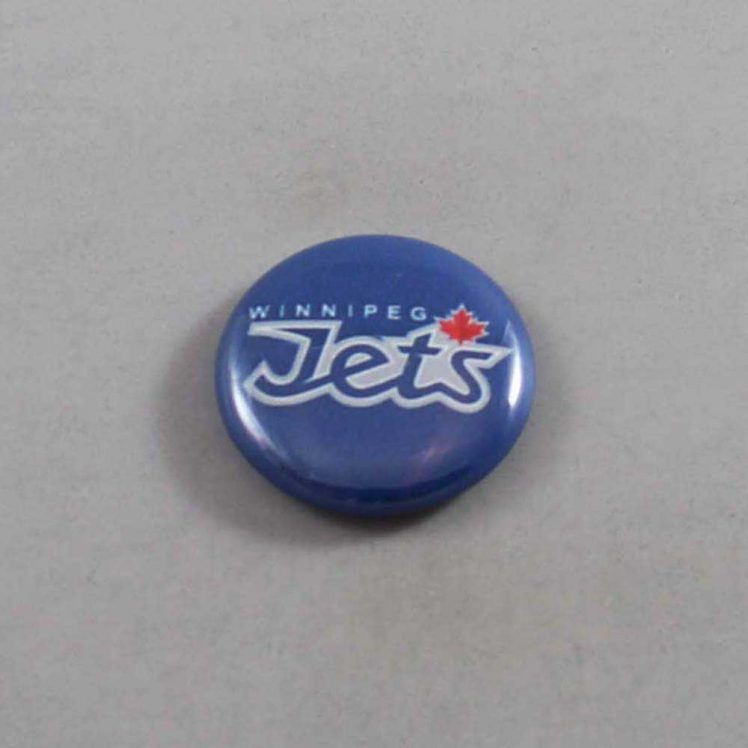 NHL Winnipeg Jets Button 07