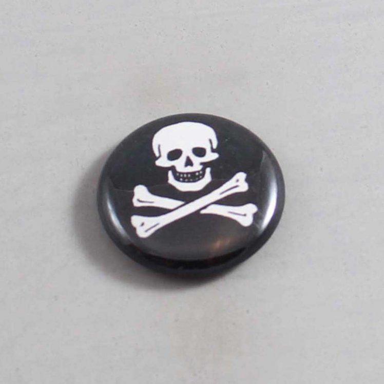 Skull Button 01