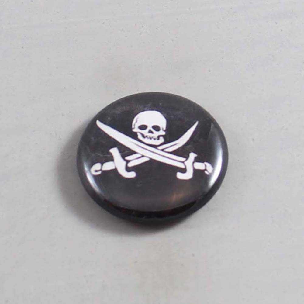 Skull Button 02