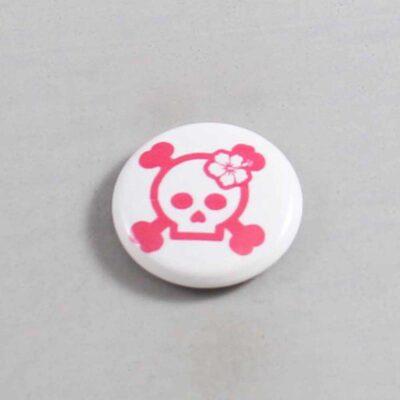 Skull Button 06
