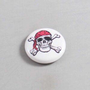 Skull Button 08