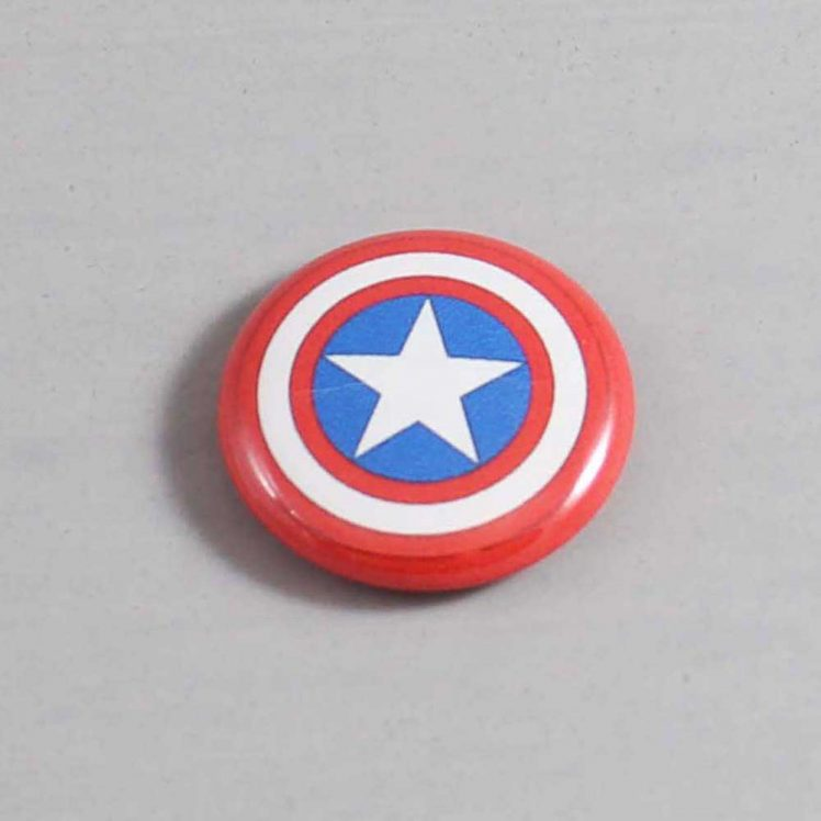 Captain America Button 01