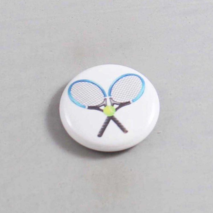 Tennis Button 01