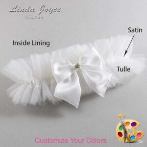 Couture Garters / Custom Wedding Garter / Customizable Wedding Garters / Personalized Wedding Garters / Pamela #23-B01-M03 / Wedding Garters / Bridal Garter / Prom Garter / Linda Joyce Couture