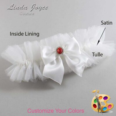Customizable Wedding Garter / Danita #23-B01-M26