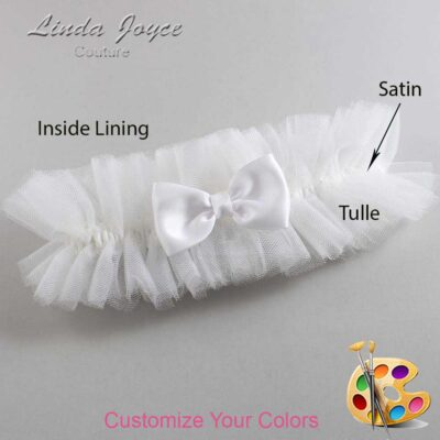 Couture Garters / Custom Wedding Garter / Customizable Wedding Garters / Personalized Wedding Garters / Justine #23-B29-00 / Wedding Garters / Bridal Garter / Prom Garter / Linda Joyce Couture