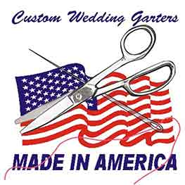 Custom Wedding Garters Made in the USA