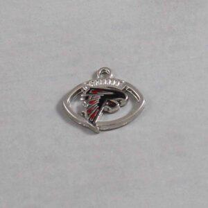 Atlanta Falcons Wedding Garter / NFL / Football - Charm-063 / Wedding Garters / Bridal Garter / Prom Garter / Linda Joyce Couture