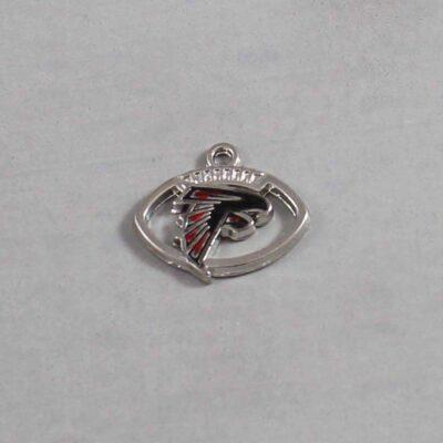 Atlanta Falcons Wedding Garter / NFL / Football - Charm 63 / Wedding Garters / Bridal Garter / Prom Garter / Linda Joyce Couture