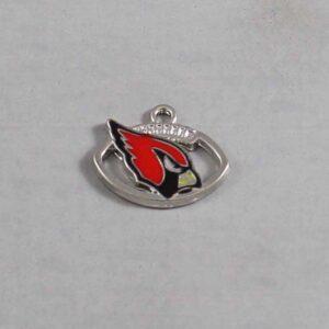 Arizona Cardinals Wedding Garter / NFL / Football - Charm-068 / Wedding Garters / Bridal Garter / Prom Garter / Linda Joyce Couture