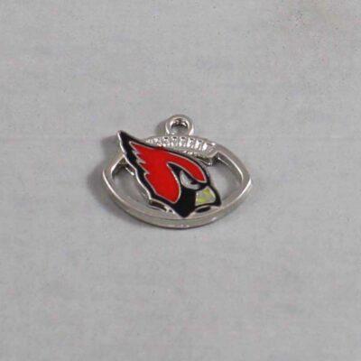 Arizona Cardinals Wedding Garter / NFL / Football - Charm 68 / Wedding Garters / Bridal Garter / Prom Garter / Linda Joyce Couture