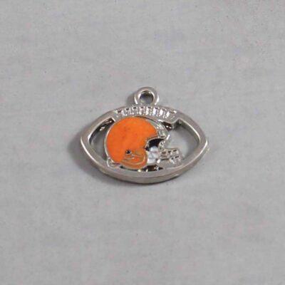 Cleveland Browns Wedding Garter / NFL / Football - Charm 76 / Wedding Garters / Bridal Garter / Prom Garter / Linda Joyce Couture