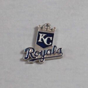 Kansas City Royals Wedding Garter / MLB / Baseball - Charm-101 / Wedding Garters / Bridal Garter / Prom Garter / Linda Joyce Couture