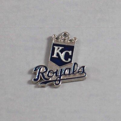 Kansas City Royals Wedding Garter / MLB / Baseball - Charm 101 / Wedding Garters / Bridal Garter / Prom Garter / Linda Joyce Couture
