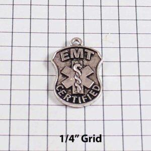 EMT Wedding Garter /  Paramedic / Ambulance / Emergency Medical Technician / - Charm-104 / Wedding Garters / Bridal Garter / Prom Garter / Linda Joyce Couture