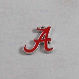 Alabama Crimson Tide Wedding Garter / University / Team / Collegiate / College / NCAA - Charm-120 / Wedding Garters / Bridal Garter / Prom Garter / Linda Joyce Couture
