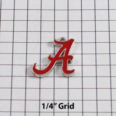 Alabama Crimson Tide Wedding Garter / University / Team / Collegiate / College / NCAA - Charm 120 / Wedding Garters / Bridal Garter / Prom Garter / Linda Joyce Couture
