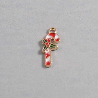 Christmas Wedding Garter / Candy Cane / Christmas Candy / Holiday - Charm 121 / Wedding Garters / Bridal Garter / Prom Garter / Linda Joyce Couture