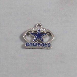 Dallas Cowboys Wedding Garter / NFL / Football - Charm-122 / Wedding Garters / Bridal Garter / Prom Garter / Linda Joyce Couture