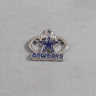 Dallas Cowboys Wedding Garter / NFL / Football - Charm 122 / Wedding Garters / Bridal Garter / Prom Garter / Linda Joyce Couture