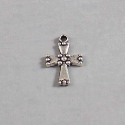 Spiritual and Religious Wedding Garter / Christian / Crucifix / Christianity / Cross / Jesus - Charm 138 / Wedding Garters / Bridal Garter / Prom Garter / Linda Joyce Couture