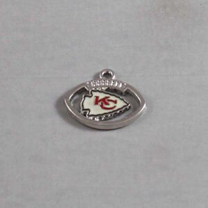 Kansas City Chiefs Wedding Garter / NFL / Football - Charm-147 / Wedding Garters / Bridal Garter / Prom Garter / Linda Joyce Couture