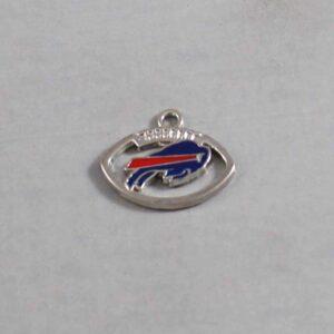 Buffalo Bills Wedding Garter / NFL / Football - Charm-152 / Wedding Garters / Bridal Garter / Prom Garter / Linda Joyce Couture